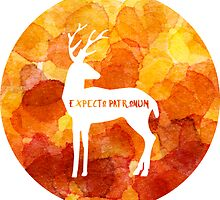 Expecto Patronum - Harry's Patronus by awkwardlittleco