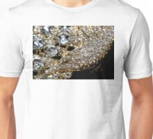 Diamonds and Gold Macro Unisex T-Shirt