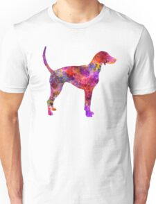 American Foxhound in watercolor                   Unisex T-Shirt