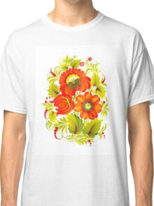 Flora Red Classic T-Shirt