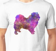 Chow-chow in watercolor Unisex T-Shirt