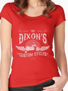 I love Daryl Dixon Biker The Walking Dead  Women's Fitted Scoop T-Shirt