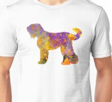 Russian Black Terrier in watercolor Unisex T-Shirt