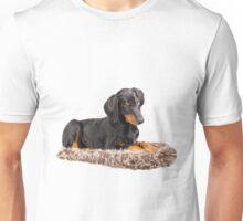 cute doberman pinscher puppy Unisex T-Shirt