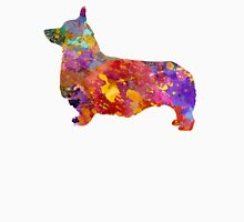 Pembroke Welsh Corgi 01 in watercolor Unisex T-Shirt