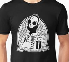 Alternative Punk Homer Simpson Skull Tattoo Art Unisex T-Shirt