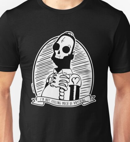 Alternative Punk Homer Simpson Skull Tattoo Art Unisex T-Shirt