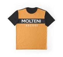 Molteni Arcore Retro Cycling Kit Graphic T-Shirt
