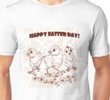 Easter chicken. Unisex T-Shirt