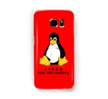 LINUX FEEL THE FREEDOM... Samsung Galaxy Case/Skin