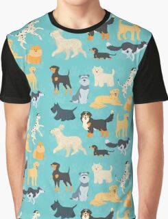 Dapper Dogs - pattern 2 Graphic T-Shirt