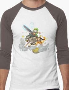 Nintendo Direct November 2015 Men's Baseball ¾ T-Shirt