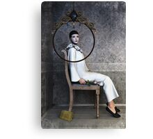 Pierrette sitting Canvas Print