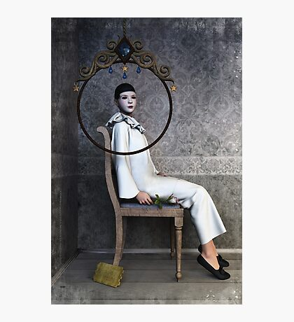 Pierrette sitting Photographic Print