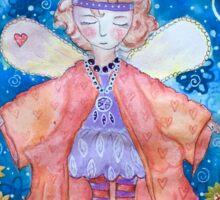 Imagination is the fancy dress of the soul Sticker