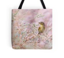 Adult Willow Warbler (Phylloscopus trochilus)  Tote Bag