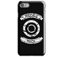 McCall Pack - Teen Wolf iPhone Case/Skin