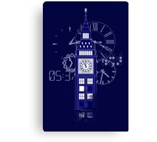 Big Ben Tardis Canvas Print