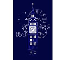 Big Ben Tardis Photographic Print