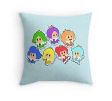 Sprixie Princesses  Throw Pillow