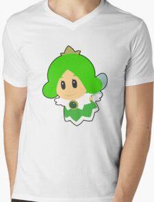 Green Sprixie Princess Mens V-Neck T-Shirt
