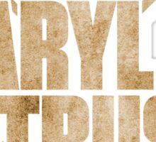 I love Daryl Dixon The Walking Dead Sticker