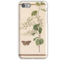 Circle of Madeleine Françoise Basseporte  European Bird-Cherry Prunus padus iPhone Case/Skin