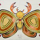 deer - moth by federico cortese