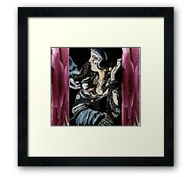 the big woman abstract Framed Print