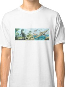 Iguanodon & Pteranodon Frieze Classic T-Shirt