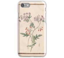 Circle of Madeleine Françoise Basseporte  Bittersweet  iPhone Case/Skin