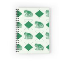 Toad pattern Spiral Notebook