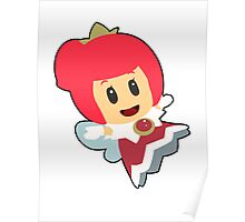 Red Sprixie Princess Poster