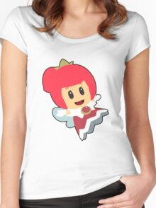Red Sprixie Princess Women's Fitted Scoop T-Shirt