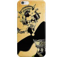 geisha pong iPhone Case/Skin
