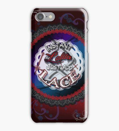 Instant Gothic Lolita iPhone Case/Skin