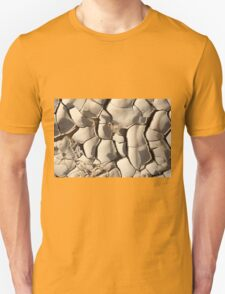 Water shortage and drought Dry cracked mud  T-Shirt