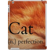''cat'' in the dictionary #2 iPad Case/Skin