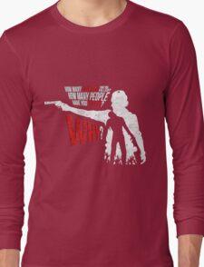 Love Rick Grimes The Walking Dead Long Sleeve T-Shirt