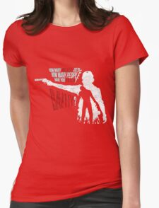 Love Rick Grimes The Walking Dead Womens Fitted T-Shirt