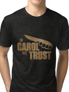 Carol The Walking Dead Tri-blend T-Shirt