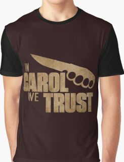 Carol The Walking Dead Graphic T-Shirt