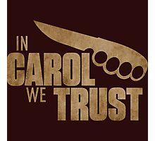 Carol  - The Walking Dead Photographic Print