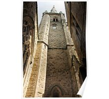 Perpendicular Church Architecture Poster