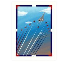Flight of Concorde Art Print