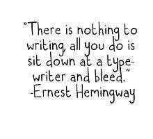 Writing  by chlrr