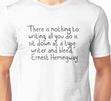 Writing  Unisex T-Shirt