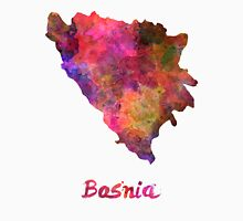 Bosnia in watercolor Unisex T-Shirt