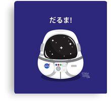 Daruma Astronaut Canvas Print