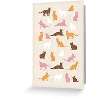 Warm Cats Greeting Card